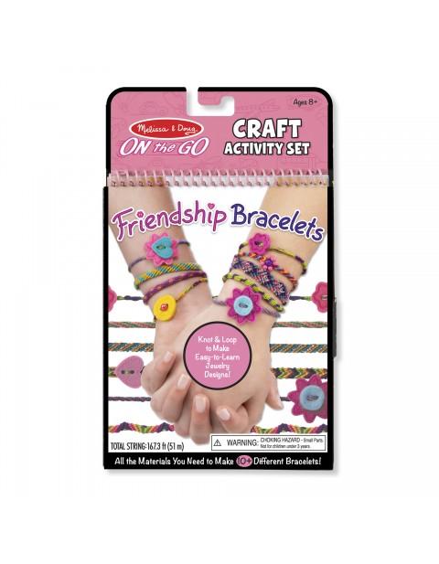 Melissa & Doug On-the-Go Friendship Bracelets Craft Activity Set