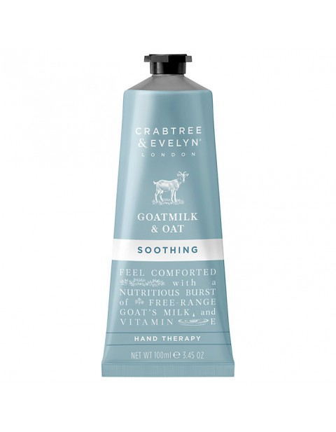Crabtree & Evelyn Goatmilk & Oat Soothing Hand Therapy, 100ml