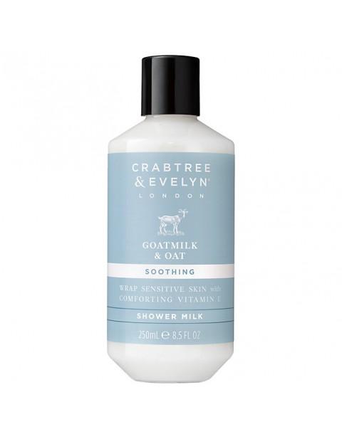Crabtree & Evelyn Goatmilk & Oat Shower Milk, 250ml