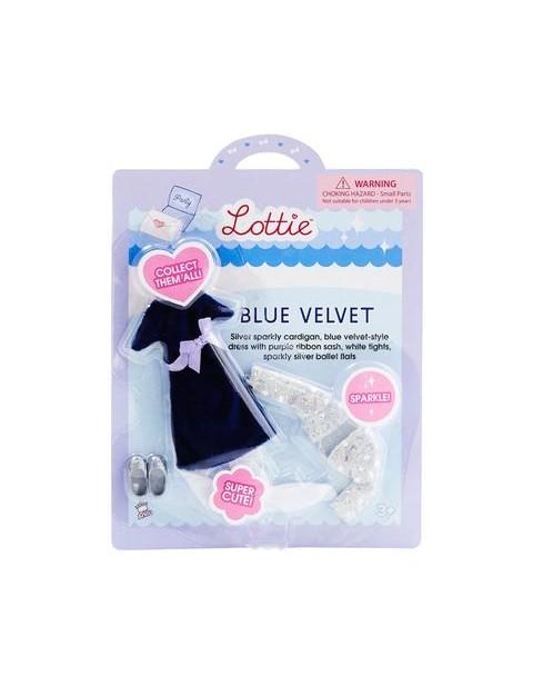 Lottie dolls Blue Velvet