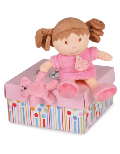 DOUDOU ET COMPAGNIE MINIATURE DOLLS WITH TEDDY BEARS Camelia