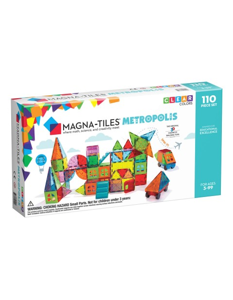 Magna-Tiles® Metropolis 110-Piece Set