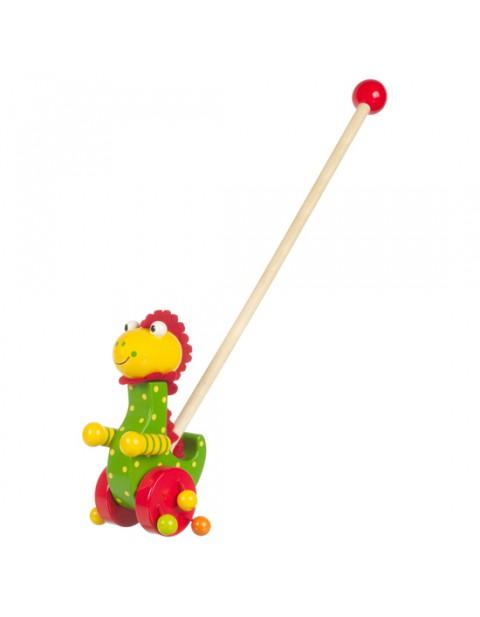 Orange Tree Toys Dino Pushalong toy