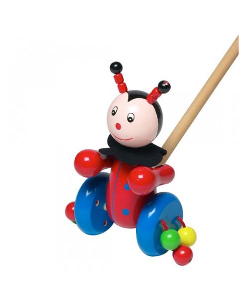 Orange Tree Toys Ladybird Pushalong toy