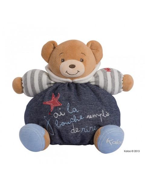 Kaloo Blue Denim Medium Chubby Bear