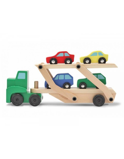 Melissa and Doug Wooden Car Transporter