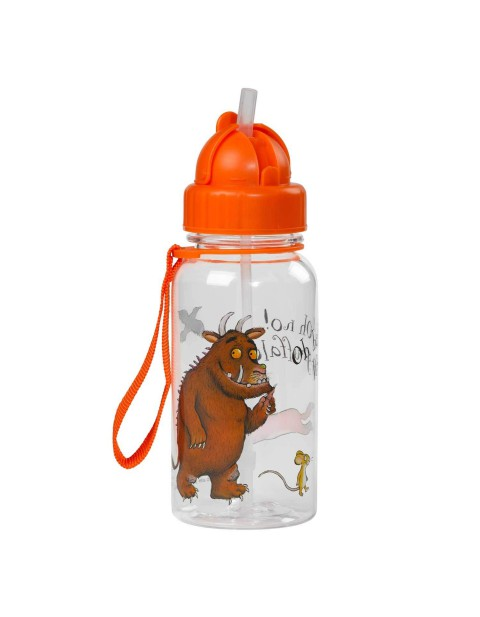 Gruffalo Water Bottle With Flip Up Straw