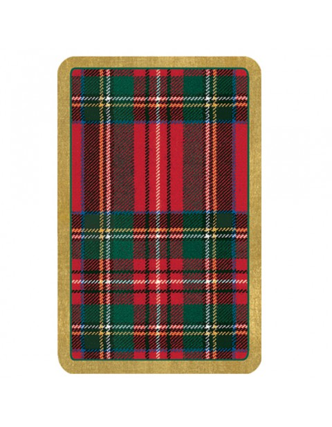 Caspari Plaid Playing Cards