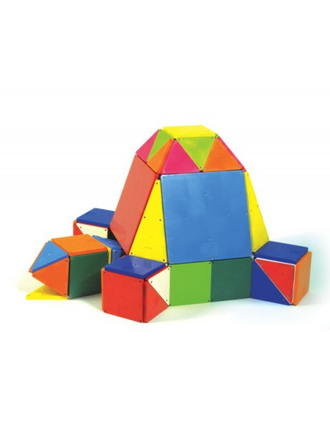 Magna-Tiles  Solid Colours 100 Piece Set